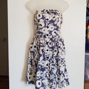 Urban Outfitters cooperative strapless dress